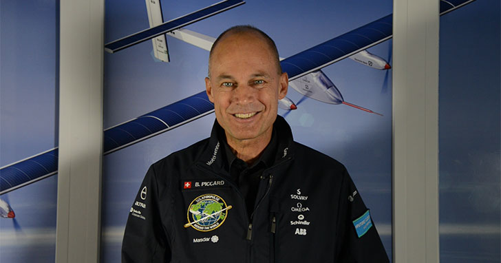 Video: Solar Impulse Chair Bertrand Piccard Delivers Welcome Message to EBACE2017 Attendees