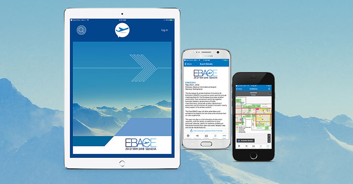 Use the EBACE2018 Mobile App, Social Media and Get the Most Out of the Show