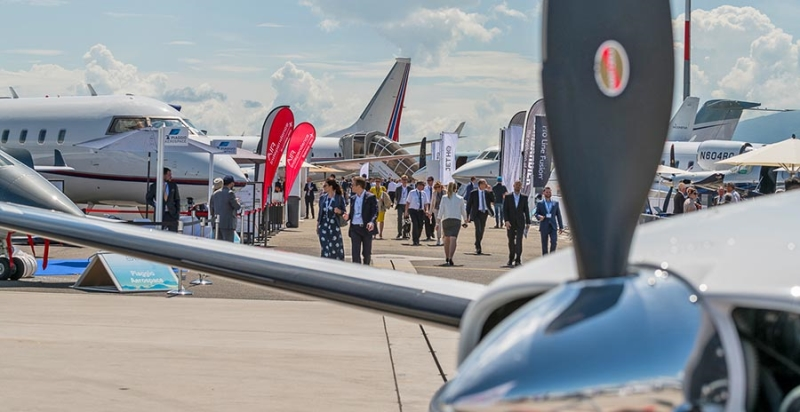 Europe's Biggest Business Aviation Event Opens Next Month