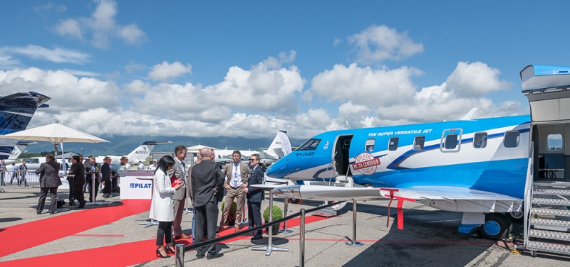 Newest, Most Advanced Business Aircraft on Display at EBACE2019